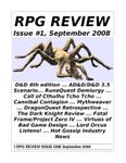 Issue: RPG Review (Issue 1 - Sep 2008)