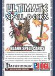 RPG Item: Ultimate Spell Decks: Blank Spell Cards