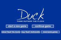 Video Game: Duck: Think Outside the Flock