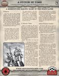 RPG Item: Ace Tale 06: A Stitch in Time