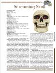 RPG Item: Screaming Skull