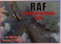 Board Game: RAF: The Battle of Britain 1940