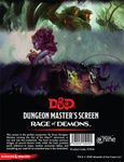 RPG Item: Dungeon Master's Screen: Rage of Demons