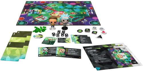 Board Game: Funkoverse Strategy Game: Rick & Morty 100