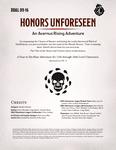 RPG Item: DDAL09-16: Honors Unforseen