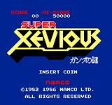 Video Game: Super Xevious
