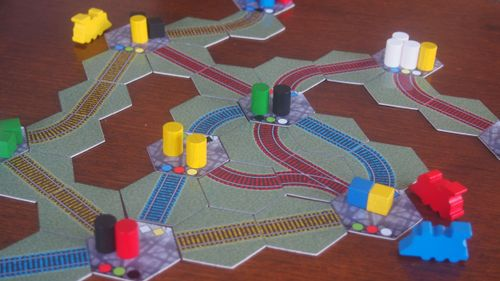 Board Game: Freight
