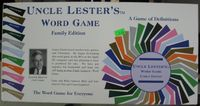 Board Game: Uncle Lester's Word Game