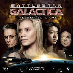 Battlestar Galactica: The Board Game – Daybreak Expansion Cover Artwork