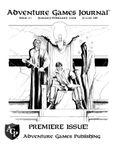 Issue: Adventure Games Journal (Issue 1 - Jan 2008)