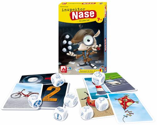 Board Game: Inspektor Nase