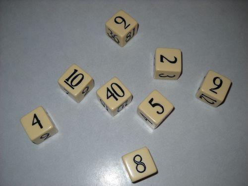 Board Game: 123 Dice