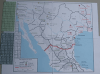 Board Game: The Mexican War: 1846-1847
