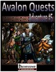 RPG Item: Avalon Quests: Adventure #5 - Land of the Dead