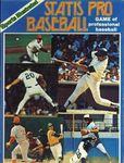 Board Game: Statis Pro Baseball