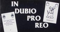 Board Game: In Dubio Pro Reo
