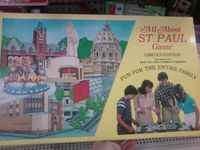 Board Game: All About St. Paul