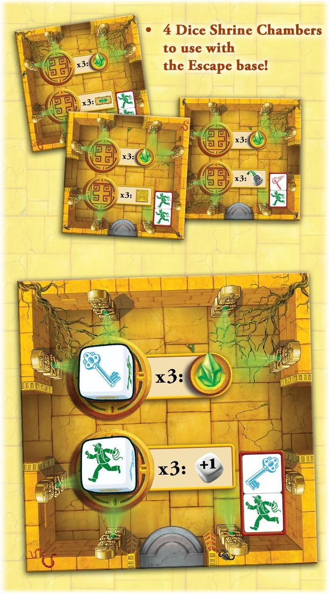 Escape: The Curse of the Temple – Dice Shrine Chambers