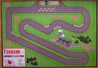 Board Game: Bolide Tracks #2: Bugeleisenring, German GP, and Tsunami, Japanese GP