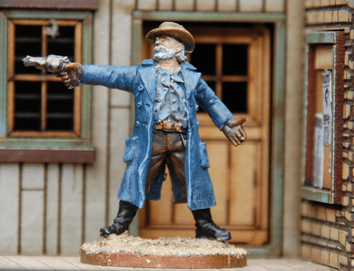 Board Game: Dead Man's Hand: Rogues' Gallery – John Bridges