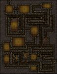 RPG Item: VTT Map Set 012: Smuggler Tunnels