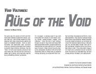RPG Item: Rüls of the Void