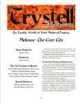 RPG Item: Trystell: Reborn - Melanoc: The Core City