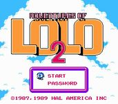 Video Game: Adventures of Lolo 2
