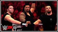 Character: The Shield (WWE 2K series)
