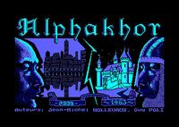 Video Game: Alphakhor