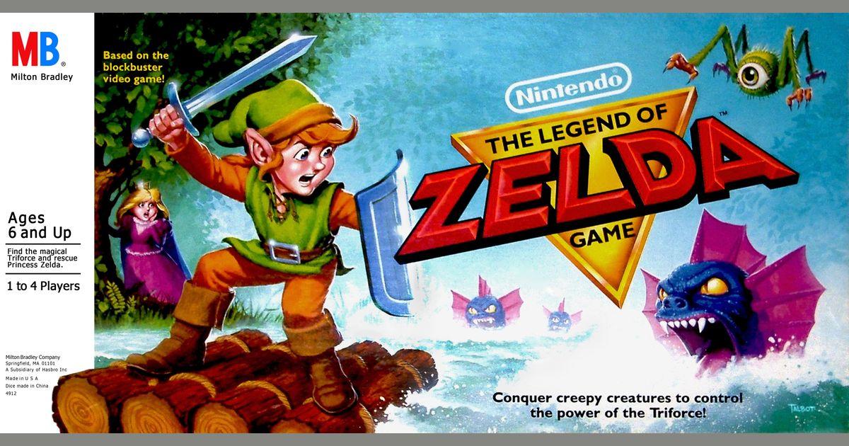 The Legend Of Zelda Board Game Boardgamegeek