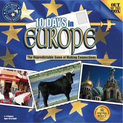 10 Days in Europe boardgame