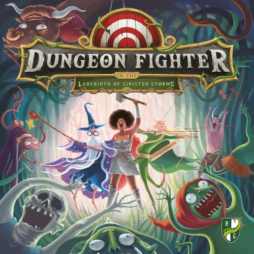 Board Game: Dungeon Fighter in the Labyrinth of Sinister Storms