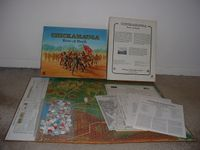 Board Game: Chickamauga River of Death
