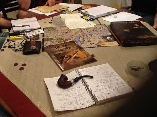 Board Game: Sherlock Holmes Consulting Detective: The Thames Murders & Other Cases