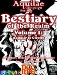RPG Item: Aquilae: Bestiary of the Realm: Volume 1 (DCC)