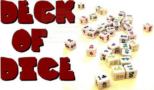 Board Game: Deck of Dice