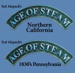Board Game: Age of Steam Expansion: 1830's Pennsylvania / Northern California