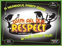 Board Game: With All Due Respect: The Party Game