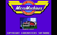Video Game: Micro Machines (1991)