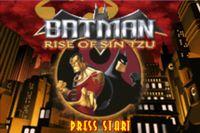 Video Game: Batman: Rise Of  Sin Tzu (GBA)