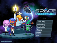 Video Game: Space Food Truck