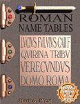 RPG Item: Roman Name Tables