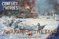 Board Game: Conflict of Heroes: Awakening the Bear! – Operation Barbarossa 1941 (Second Edition)