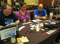 An advanced copy being played at BGGfamilyCon.