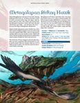 RPG Item: Hundred Devils Night Parade: Metagalapan Riding Hawk and Plentimon's Ladybug