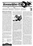 Issue: Aventurischer Bote (Issue 2 - 1985)
