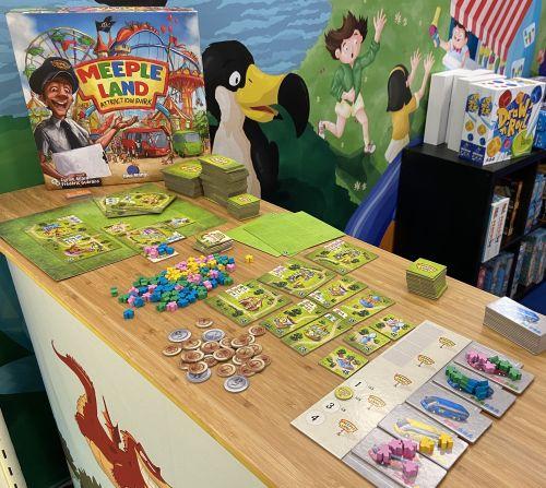 Board Game: Meeple Land