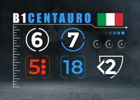 Italian Centauro unit - Back