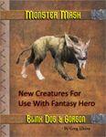 RPG Item: Monster Mash: Blink Dog & Gorgon